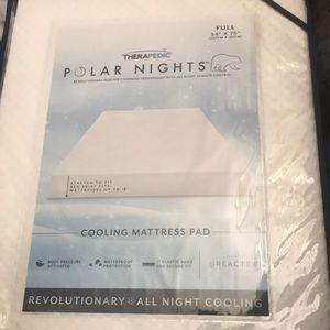 Therapedic - Full - cooling mattress pad